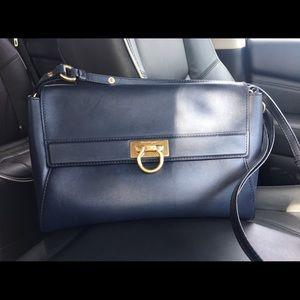 Authentic Salvatore Ferragamo Crossbody Abbey Bag